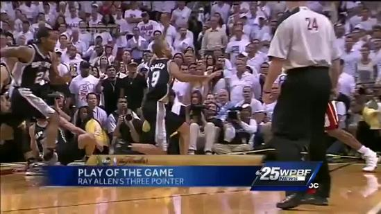 NBA Finals Game 6: Xfinity Fast Break Play Of The Game