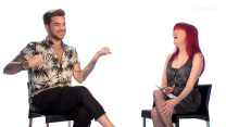 Adam Lambert Exclusive Interview, Pt. 1