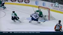 Lehtonen stones Wheeler on the doorstep