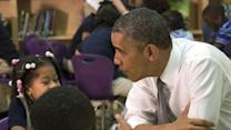 Raw: Obama Sits Down With Elementary Kids