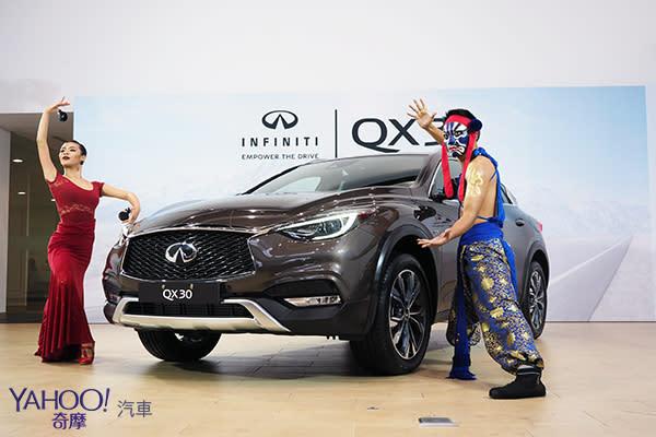 【台北車展預先賞】東西薈萃、首度來台!Infiniti QX30亞洲首現!