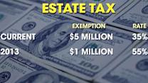 How will increase in estate tax impact small businesses?