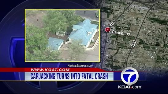 Carjacking and Rollover fatal