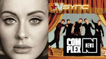 Adele's '25' Breaks Record for Most Albums Sold in One Week, Previously Held By *NSYNC