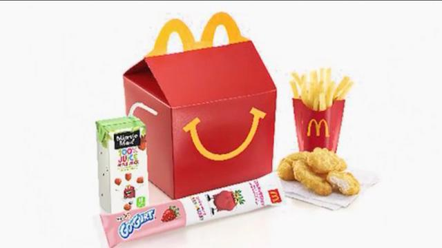McDonald's adds Happy Meal option