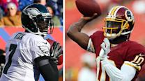 Is Michael Vick soaring past RG3?