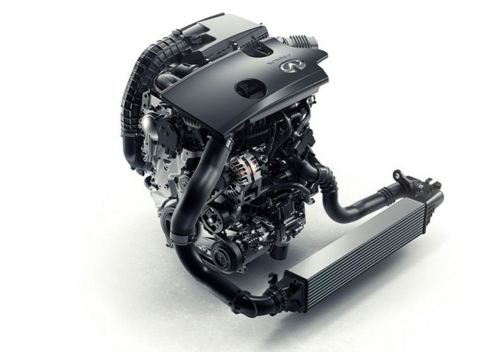 這款休旅車最引人注目的就是引擎部分,作為 Infiniti 首款搭載可變壓縮比技術的車款。
