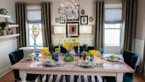Dining Room Makeover: Modern on a Budget