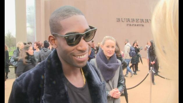 Tinie Tempah talk high fiving Prince William
