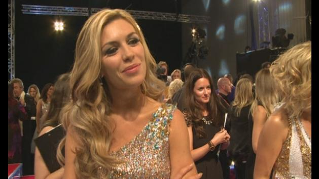 Strictly 2013: Abbey Clancy on learning Peter's robot moves