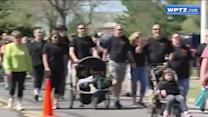 Hundreds come out to support multiple sclerosis patients