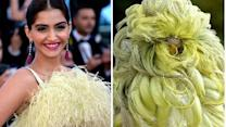 Sonam Kapoor reacts on her Cannes gown memes