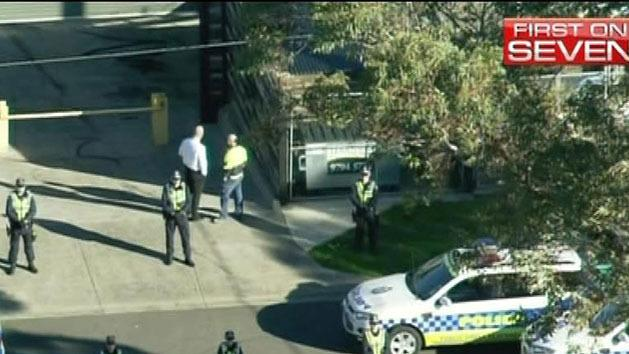 Police raid Melbourne bikie club