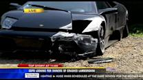 SDPD looking for owners of crashed Lamborghini
