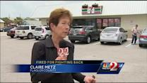 Clerk who fought thief is fired by 7-Eleven