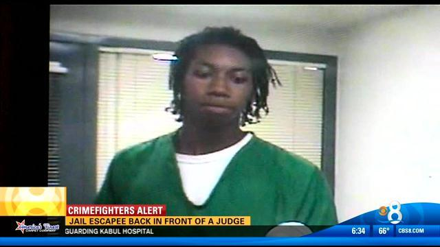 Jail escapee back in front of a judge