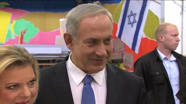 Israeli Premier Netanyahu votes in municipal elections