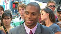 Victor Cruz Discusses Personal Obstacles, New Book 'Out of the Blue'