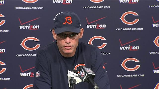 Trestman on Cutler`s injury: `I`m encouraged by the prognosis`