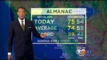 Kaj Goldberg's Weather Forecast (April 26)