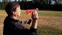 Paper Airplane to Drone in 60 Seconds