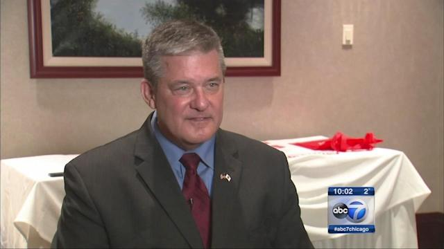 Rutherford accuser spends 2nd day at new job in Cook Co.