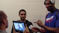 Rookie Siva Turns the Tables