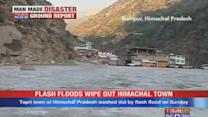 Flash floods wipe out Himachal town