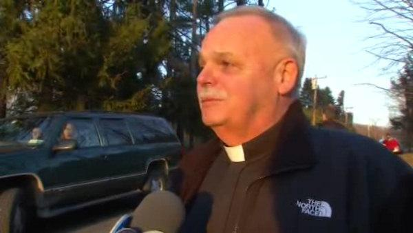 Monsignor speaks out about tragic school shooting