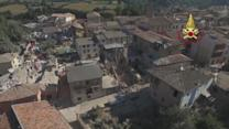 Drone Captures Aftermath of Deadly Earthquake in Italy