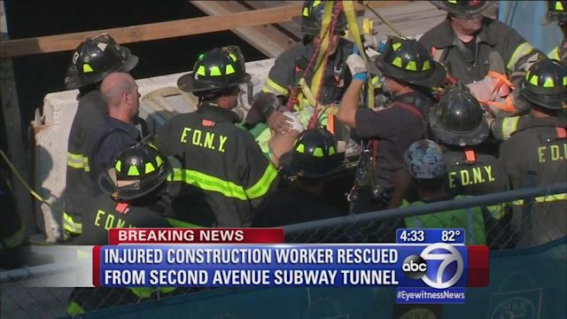 Upper East Side construction accident leaves worker injured