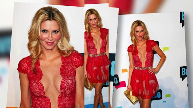 Brandi Glanville Shows Some Serious Front at Bravo Event