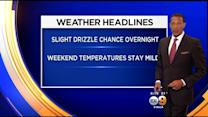 Kaj Goldberg's Weather Forecast (May 22)