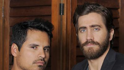 Gyllenhaal bonds with Pena at the 'End of Watch'
