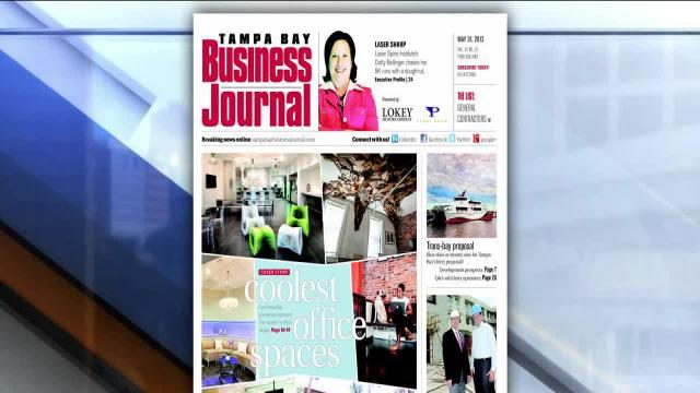 Tampa Bay Business Journal: May 31, 2013