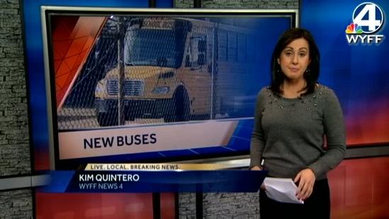Upstate gets 100+ new school buses
