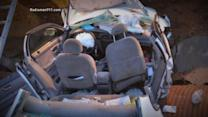 911 Call: Mother and Son Drive Into a Sink Hole