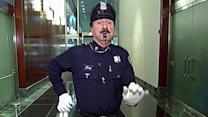 'Dancing Cop' back on the beat for 23rd year