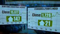 Stocks soar on Wall Street after Fed announces continued stimulus program