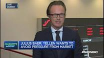 Yellen wants to avoid pressure from market: Julius Baer