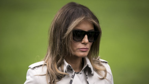 f69fa48f1148 Melania Trump s Black History Month post picked apart on Twitter   You  really don t care do you