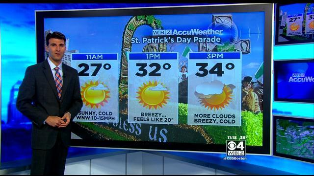 WBZ AccuWeather Forecast