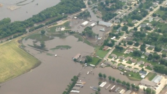 Rock Valley Under Serious Flooding