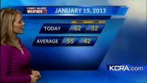 Eileen's Saturday Forecast 1.19.13