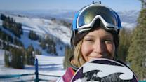 "How Slopestyle gold medalist Jamie Anderson's ""powers through"" her fears"