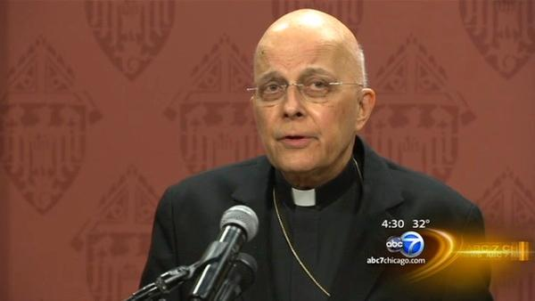 Pope resignation catches Cardinal George off guard