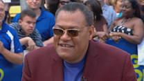 Laurence Fishburne on Leading Metropolis' Daily Planet