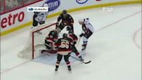 John Mitchell gets quick one-timer in front