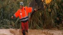 Raw Video: Deadly floods swamp Spain