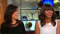 """The Talk"" co-hosts Julie Chen and Aisha Tyler on show's 5th season"